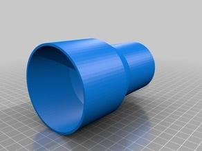 Bosch GTS 10 XC Absaugadapter vacuum hose für 75er HT Rohr
