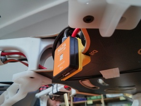 DJI F550 Remote LED clip
