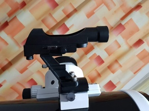Mounting Bracket for Astronomy Low-Cost Red Dot Finder