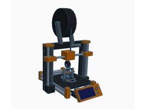 Prusa I3 MK2 printing a Prusa I3 MK2 printing a Prusa I3 MK2 printing a Prusa I3 MK2 and you get where this is going