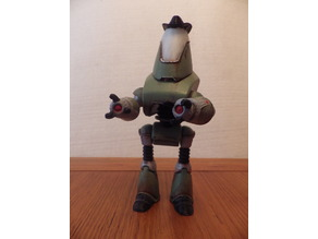Fallout Protectron Sheriff figure