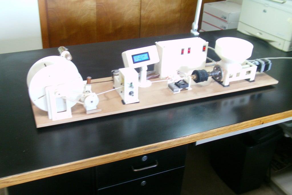 Lyman / Mulier Filament Extruder V5 by hlyman - Thingiverse