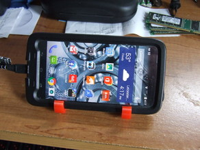 Phone holder for large phones with large cases.