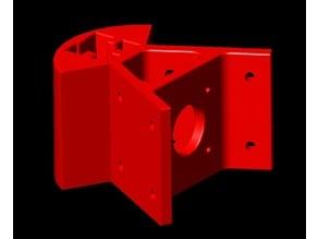 60 Degree Base angle for 25mm aluminium bar (Rev: 4)