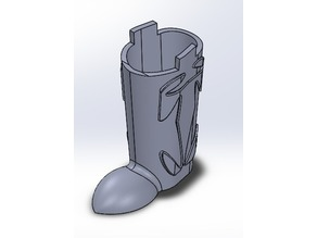 Boot Pencil Container