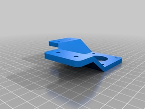 NEMA 17 Stepper Motor Mount for Polargraph