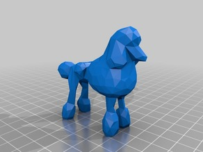 Poodle Low Poly