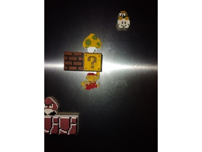 Mario bross cloud tile (lakitu)