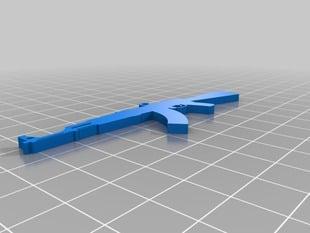 AK-47 Pendant or Keychain