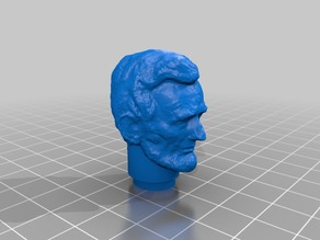 Mego size Abraham Lincoln Head