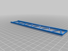 1:76 OO or HO gauge Girder Bridge