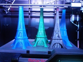 Multi Sided Eiffel Style Vases