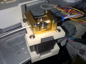 Nema 23 Extruder mounting converter