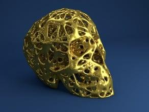 Skull Voronoi Style