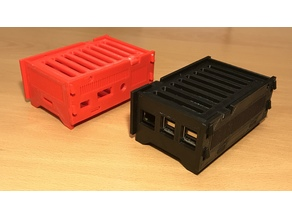 Modular Raspberry Pi sleeve/case for 2/3 Model B/B+
