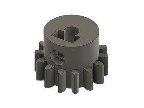 OpenRC Truggy 14t, 3.175mm ID Pinion Gear for Central Differential