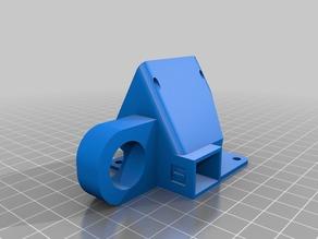 40 mm fan nozzle cooler with sensor mount