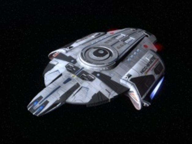 Star Trek Online Tactical Escort Refit by Nomad1632 ...