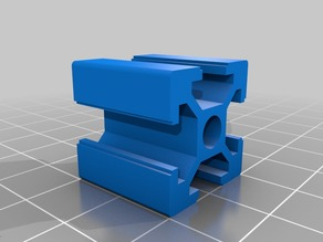 2020 80/20 extrusion for Fusion 360