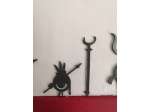 Patapon warrior collection 2 (wall decoration)