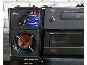 Media Tech boom box MT3145 speaker protection
