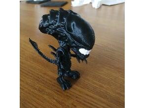 Cute Alien Xenomorph (mod for minimum supports)