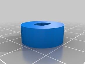 Moyeu de roue diam 7mm