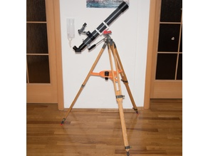 Wood tripod upgrade for telescope with Eyepiece plate