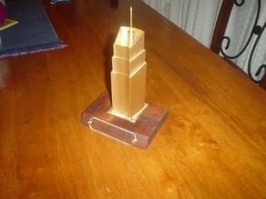Simple mockup of Q1 building in Brisbane
