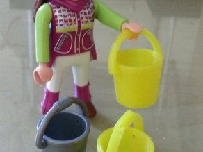 Playmobil bucket - Eimer, Kübel