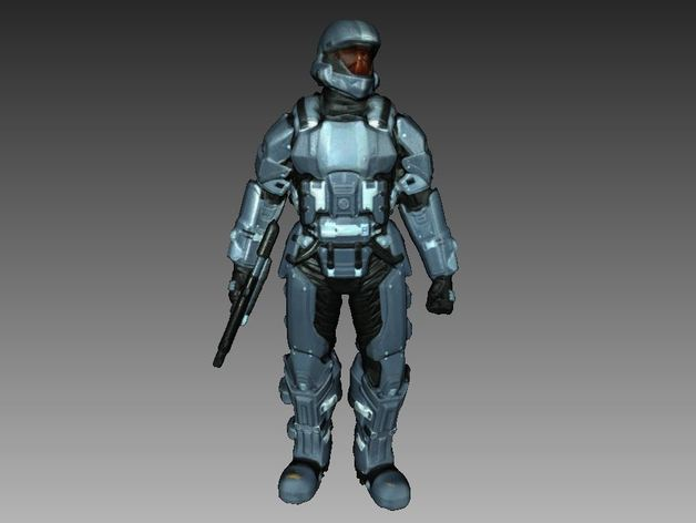 Halo 3 ODST Soldier 3D Scan by 3DWP - Thingiverse