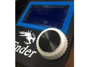 Ender 3 Knob Outer Grip - Flexible