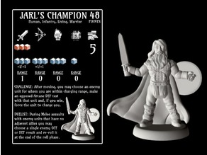 Jarl's Champion (18mm scale)