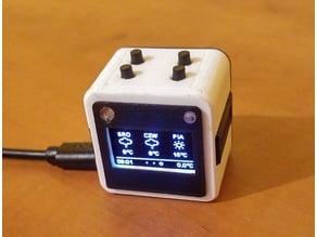 SmartCube - ESP32 OLED Cube Case
