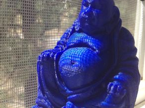 Laughing Buddha (with flat base)