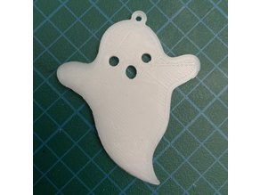 Ghost Halloween Keychain (Arms)