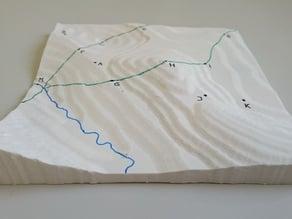 3D Print a Landscape Model
