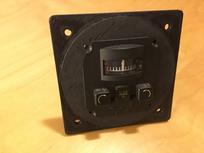 Instrument panel mount adapter for KA-51A