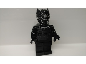 Giant Lego Black Panther