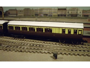 N Scale Clerestory Roof for Old Farish Coaches