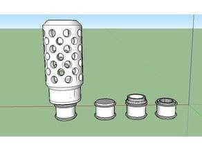 Nerf Maverick Barrel Adapter remix