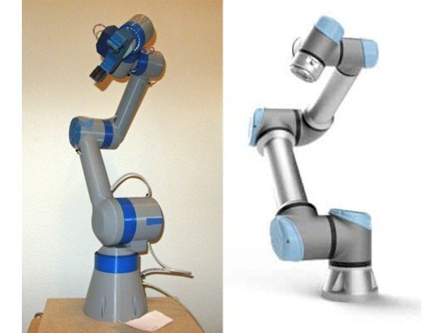 WE-R2 4 Six-Axis Robot Arm by LoboCNC - Thingiverse