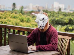 Low Poly Llama Mask