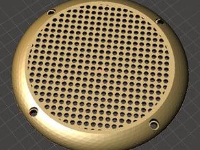 Speaker grill / Lautsprecher gitter 75mm