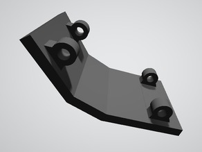 Tamiya ORV gearbox skid plate