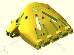 Cyborg Beast v7.1 (Parametric Printable Prosthetic)
