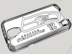 Seahawks 12th Man Samsung S5 case