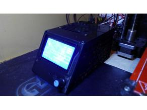 Compact RAMPS 1.4 Case + LCD 12864 + 80mm Fan + (optional DB25 + DB9)