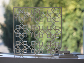 Islamic Pattern Square Screen
