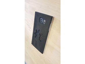 Galaxy Note 5 case with Open Source Hardware logo